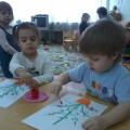 Конспект интегрированного занятия «Букет для мамы»