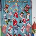 Новогоднее убранство групповой комнаты в подготовительной группе