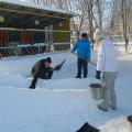 Как родители сделали для нас снежные постройки (фотоотчет)