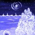 «Зима в оттенках фиолетового». Мастер-класс по рисованию гуашью с детьми 6–8 лет