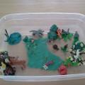 Экологические пластилиновые макеты