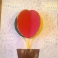 Детский мастер-класс объемной аппликации «Воздушный шар»