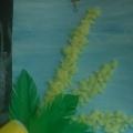 Детский мастер-класс «Мимоза для мамы»