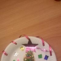 Детский мастер-класс «Новогодняя тарелка. Декупаж»