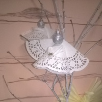 Детский мастер-класс «Ангелочки»