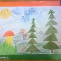 Мастер-класс по рисованию «Летняя рыбалка»