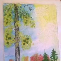 Мастер-класс по рисованию «Грибная полянка»