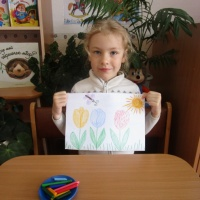 Мастер-класс по рисованию «Тюльпаны — 2», для старшего дошкольного возраста