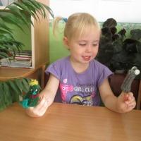 Создание развивающей среды «Вязаный пальчиковый театр» с детьми младшего дошкольного возраста