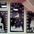 Сказка на окне, или Морозные узоры в духе Нового года