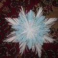Мастер-класс «Пушистая снежинка»