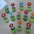 Творческая работа детей средней логопедической группы «Подарочек для мамочек» (тестопластика)