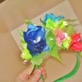 Цветочный ободок для костюма «Весна»