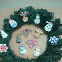 Мастер-класс по изготовлению объёмных форм из гипса для росписи «Подарок для Деда Мороза»