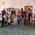 Совместное мероприятие с родителями и детьми группы раннего возраста «Помогите Зайке»