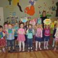 Открытки на 8 Марта для мам «Тюльпаны» в средней группе
