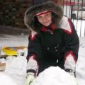 Зимние постройки на участке моей группы