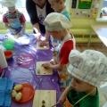Конспект открытого занятия для родителей по кулинарии «Семейное кафе» (старшая группа)