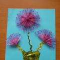Мастер-класс «Цветы из фантиков от конфет»