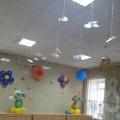 Оформление зала на 8 марта
