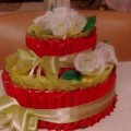 Мастер-класс «Торт из конфет»