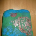 Мастер-класс «Пейзаж на камне»