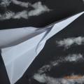 Мастер-класс «Открытка к 23 февраля» (Боевой самолёт— истребитель «Миг») за 5 минут