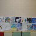 Фотоотчет о проведении творческой выставки «Космос», посвящённой Дню космонавтики