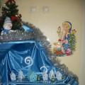 Оформление уголка в детском саду «Зимняя сказка» (фотоотчет)