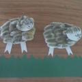 Пасхальные хлопоты. Овечка из почек вербы