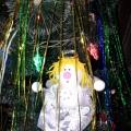 Мастер-класс «Рождественский ангел из пенопластовых шаров»