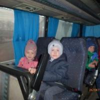 Фотоотчет «Поездка в кукольный театр»