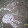 Мы рисуем на асфальте