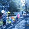 Летнее развлечение для всех возрастных групп детского сада «Радуга воздушных шаров»
