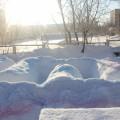 Фотоотчет смотра-конкурса снежных построек «Сказочный мир»