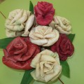 Ручной труд «Цветы небывалой красоты» (фотоотчет)