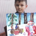 Работы 1 «В» класса по русской народной сказке «Морозко» (фотоотчёт)