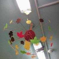 Осеннее оформление нашей группы