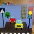 Конспект НОД по социально-коммуникативному развитию (ручной труд) «Модель светофора» в старшей группе