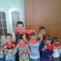 Мастер-класс «Изготовление Валентинок» с детьми старшей группы