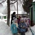 Целевая прогулка «Зима на участке детского сада» (средняя группа)