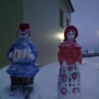 Оформление участка «Снежные фигуры в ДОУ»