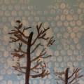 «Зимний пейзаж». Рисование с элементами нетрадиционной техники