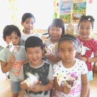 Детский мастер-класс по изготовлению вертушки в старшей группе