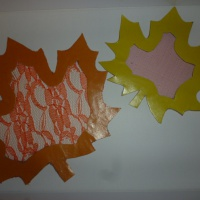 Мастер-класс «Осенние листочки для украшения группы»