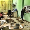 Мастер-класс по рисованию сухой пастелью «Зимняя ночь» (фотоотчет)