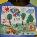 Фотоотчет. Галерея детского творчества «Радуга лета»