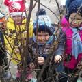 Конспект интегрированной НОД «Весна пришла» в младшей группе с использованием нетрадиционного рисования