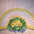 Декоративный веер из вилок
