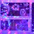 Новогоднее оформление окон и холла детского сада